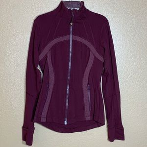 Lululemon define dark purple jacket size 6